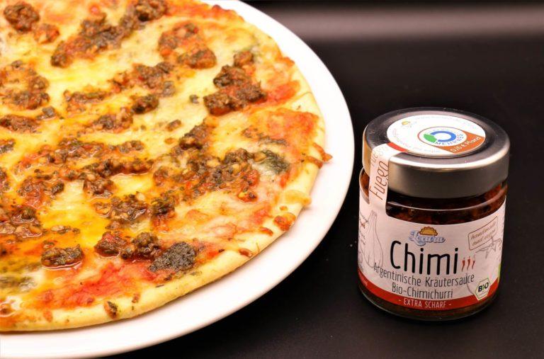 Locura 2 chimi mit pizza